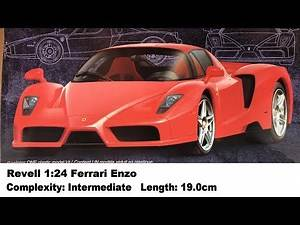 Revell 1:24 Ferrari Enzo Kit Review