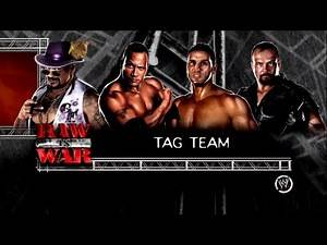 WWE 13 Tag Team Title Match Nation of Domination VS The Corporation - RAW is WAR 3 Match 4