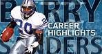 Barry Sanders UNREAL Career Highlights | NFL Legends Highlights