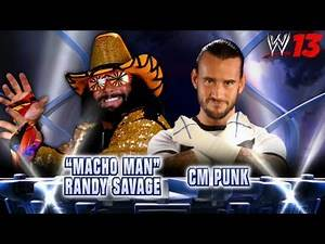 "WWE Top 10 Fantasy Matches: 10. CM Punk vs. ""Macho Man"" Randy Savage"