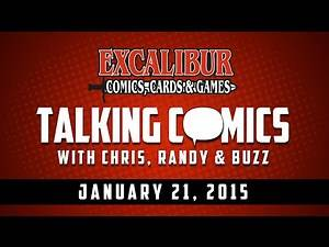 Talking Comics for 01.21.15 - Snake Eyes Agent Of Cobra #1, Powers #1, Millennium #1 & More!