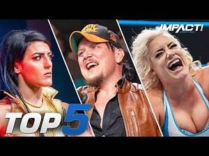 Top 5 Must-See Moments from IMPACT Wrestling for Oct 11, 2019 | IMPACT! Highlights Oct 11, 2019