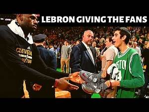 """Lebron James """"Giving the Fans"""" Moments/Compilations"""
