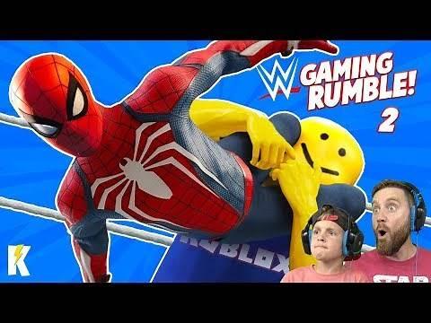 Gaming Royal Rumble in WWE 2k19 Part 2!! K-City GAMING