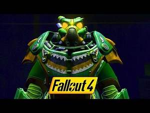 FALLOUT 4 - GREEN PAINT POWER ARMOR - Hot Rod Shark Location Guide