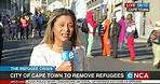 City of Cape Town will remove refugees