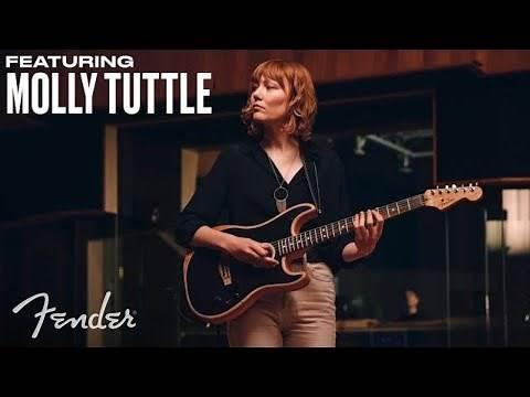 Molly Tuttle | American Acoustasonic Stratocaster | Fender