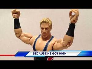"WWE ACTION INSIDER: Jack Swagger arrested wrestling figure review mattel ""grims toy show"""