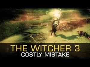 Costly Mistake MAUGRIM RELIC SWORD FLORENS NOVIGRAD VELEN - The Witcher 3 Wild Hunt Gameplay PC
