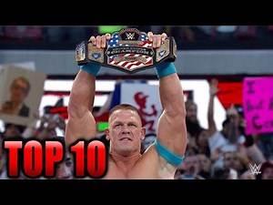 Top 10 WWE John Cena US Open Challenge Matches