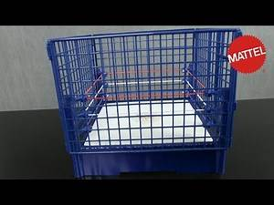 WWE Hall of Fame Classic Steel Cage from Mattel