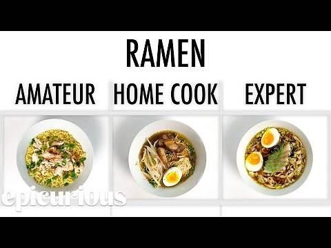 4 Levels of Ramen: Amateur to Food Scientist | Epicurious