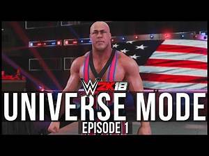 WWE 2K18 | Universe Mode - 'FIRST SHOW! | #01