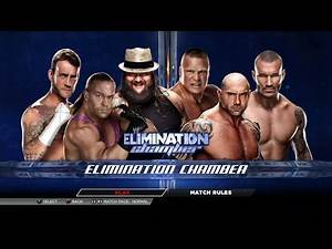 WWE 2K15 PS3 Gameplay - Elimination Chamber #2 [60FPS][FullHD]