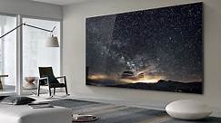 Samsung shows off massive 219 inch TV called 'The Wall'