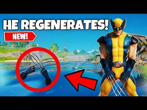 How Much Health Does Wolverine Have In Fortnite