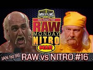 """Raw vs Nitro """"Reliving The War"""": Episode 16 - Jan 1st 1996"""