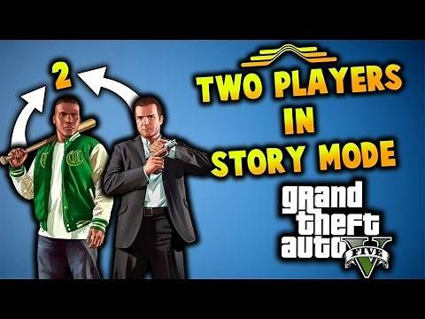 How To Play Multiplayer In GTA 5 Story Mode! (Single Player)