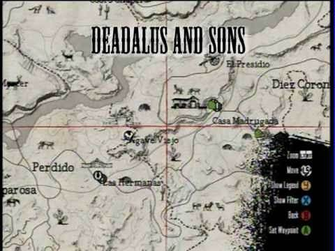 All Stranger Mission Locations (red dead redemption)