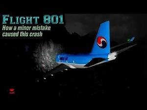 Korean Air 801 : How a minor error caused this accident