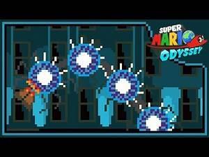 Mecha Wiggler (8-BIT) - Super Mario Odyssey