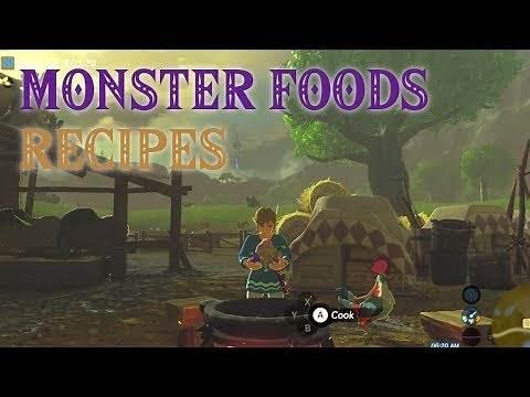 BOTW Recipes: Monster Foods