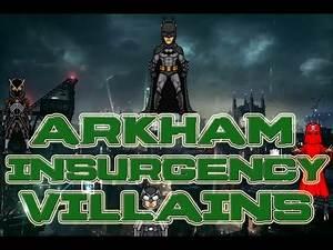 Batman Arkham Insurgency Leaked Villains Part 1