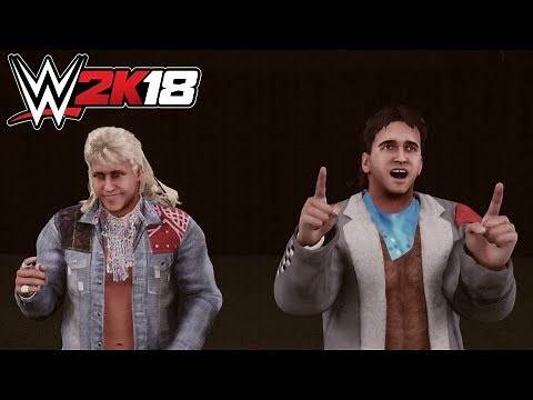 WWE 2K18 - Rock 'n' Roll Express (Entrance, Signature, Finisher)