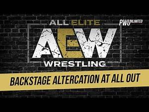 Two AEW Wrestlers Reportedly Involved In Backstage Altercation/Fight At ALL OUT