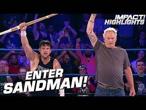 THE SANDMAN Returns and Gives Eddie Edwards a New Kendo Stick! | IMPACT! Highlights May 31, 2019