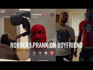 ROBBERY PRANK ON BOYFRIEND GONE TOO FAR (FT. MEER 100K)