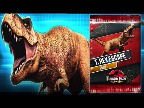 T.REX ESCAPE Pack - Jurassic World The Game