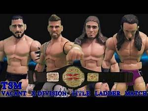 TSM Episode 6 Part 1/4 Ladder match (WWE TNA Stop Motion)