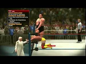 Hulk Hogan vs. Andre the Giant: Let's Play WWE2K14 30 Years of Wrestlemania, Ep. 4