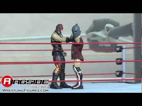 """WWE FIGURE INSIDER: Kane Elite 19 Mattel wrestling figures toy review """"Ringside Collectibles"""""""