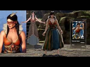 Witcher 3 Philippa in SoulCalibur 6 (Custom Character)