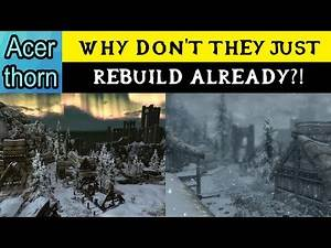 Why Don't the People of Winterhold Just Rebuild? - Elder Scrolls Lore Discussion