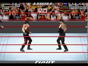 WWE Road To WrestleMania x8 gba gameplay