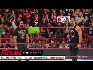 The shield is back ( Dean Ambrose saves Roman reigns and seth Rollins )