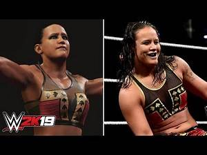 WWE 2K19 First Look Shayna Baszler! Screenshot, Rating & Comparisons! (WWE 2K19 News)
