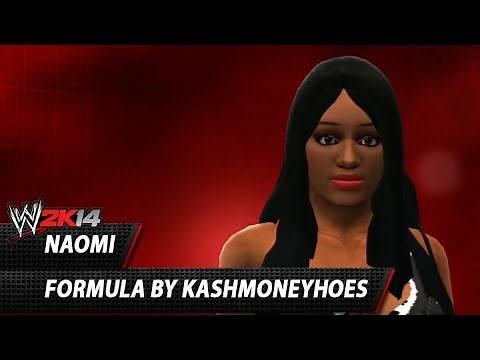 WWE 2K14: Naomi CAW Formula By kashmoneyhoes