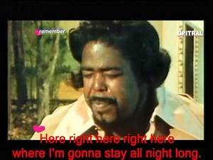 Barry White Let The Music Play Lyrics