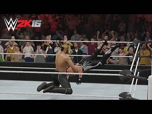 WWE 2K16 - Seth Rollins vs Sting (New Gameplay)