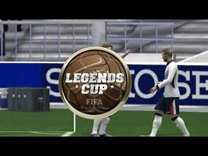 Fifa 14 moddingway patch 16.0.0 England Legends 2 vs Brazil Legends 1