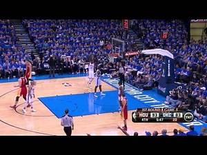 James Harden, worst shot ever - Rockets @ Thunder, Game 5