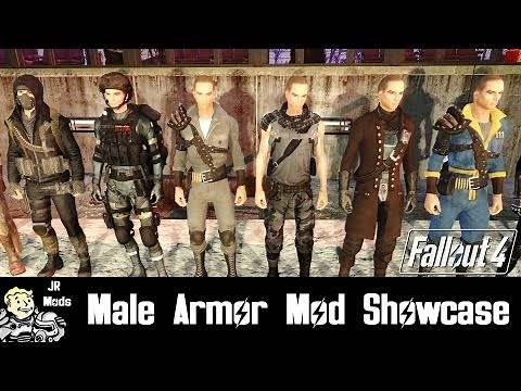Fallout 4 Mod Showcase: Male Armor Mods