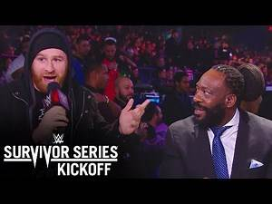 Sami Zayn crashes the live Kickoff panel: Survivor Series 2019 Kickoff