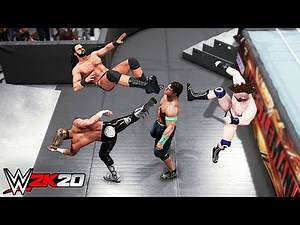 WWE 2K20 Top 10 Finisher Combinations!