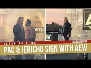 BREAKING NEWS: PAC & Chris Jericho Sign With All Elite Wrestling