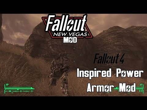 Fallout 4 Inspired Power Armor mod for Fallout New Vegas